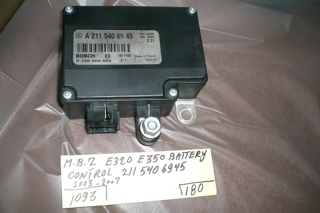 mercedes benz e320 e350 battery control 2115406945