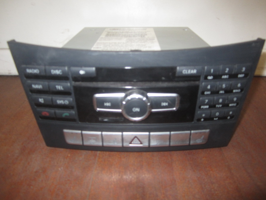 mercedes benz cd player a2129005625 used auto parts