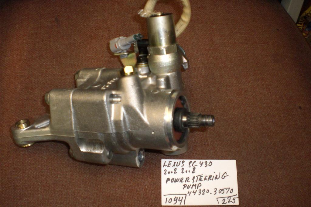 lexus sc power steering pump    auto parts mercedes benz  parts