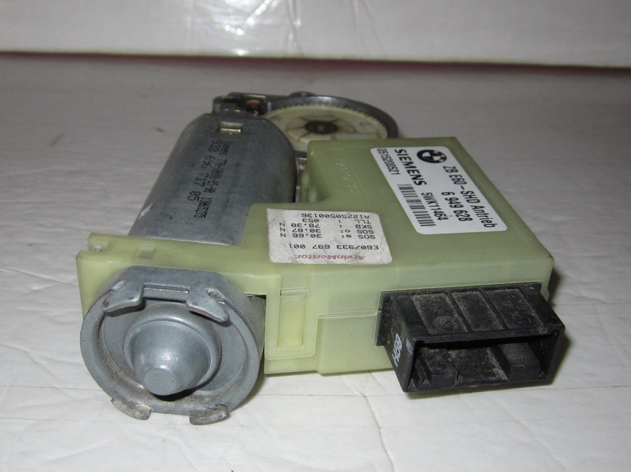 Bmw sun roof motor 6949628 used auto parts mercedes for Sun motor cars bmw