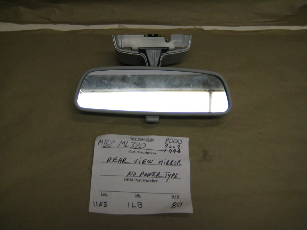 Mercedes benz ml320 mirror rear view used auto for Mercedes benz mirror