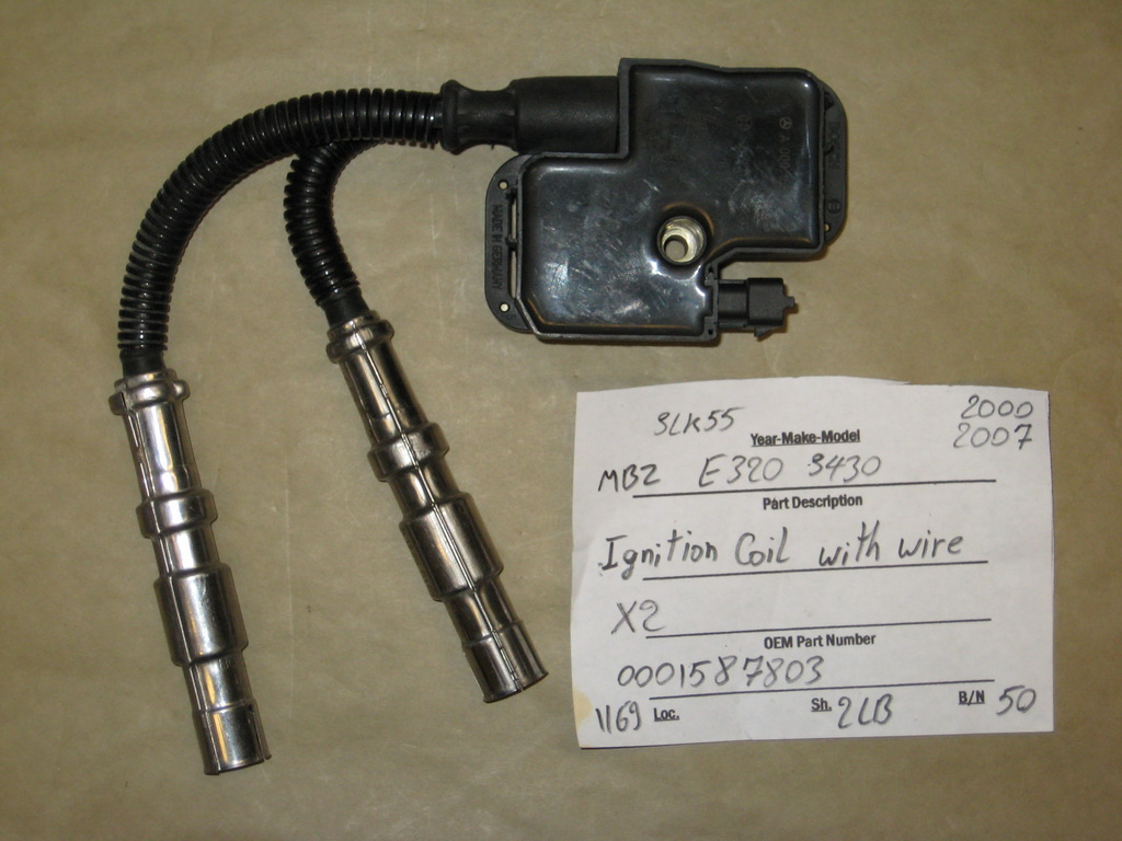 mercedes benz e320 s430 ignition coil used auto