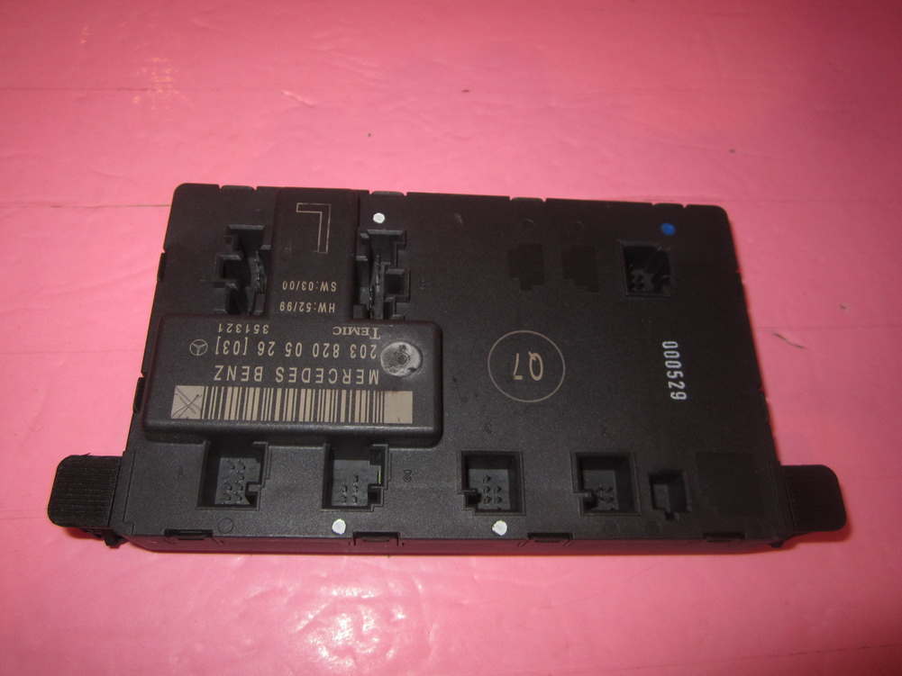 Mercedes benz door control 2038200526 used auto for Mercedes benz part number