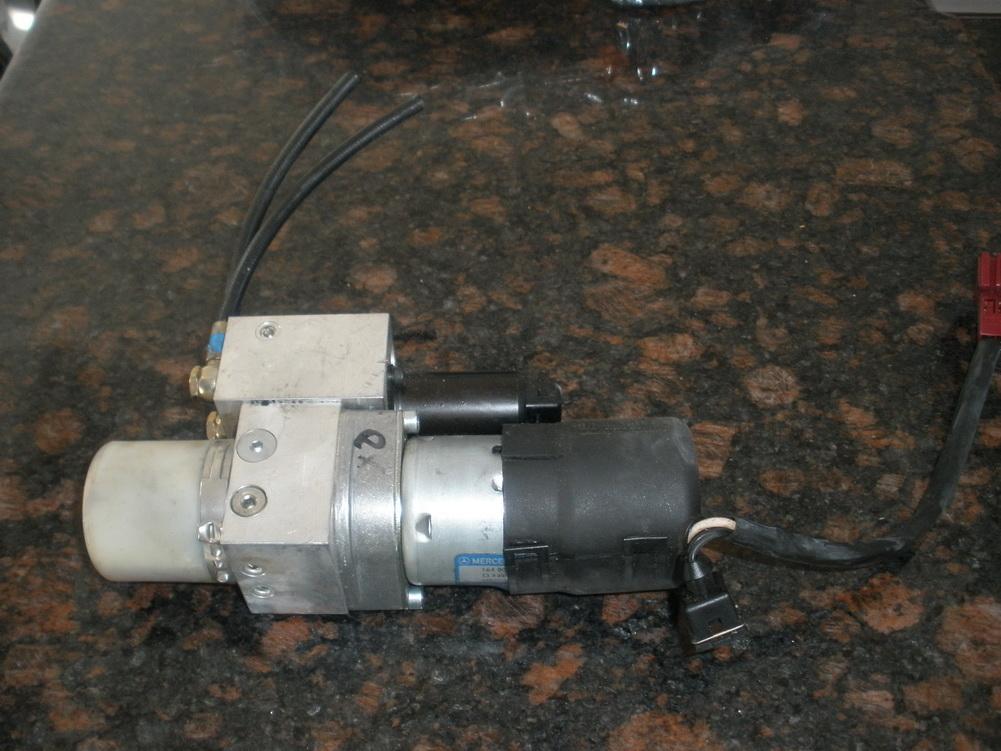 Mercedes benz hydraulic pump motor 1648000248 used for Hydraulic pump with motor