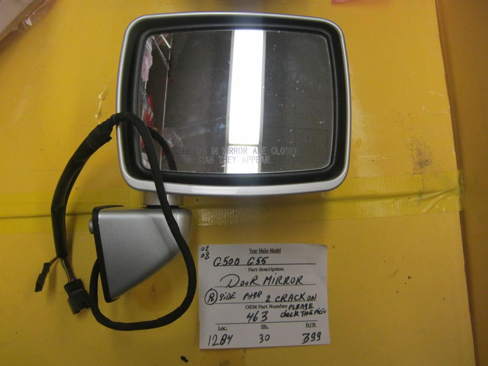Mercedes benz mirror door 463 used auto parts for Mercedes benz parts used