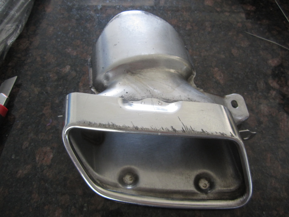 Mercedes benz exhaust tip 212 used auto parts for Mercedes benz exhaust