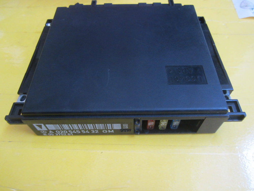 Mercedes benz base module 0205455432 used auto parts for Mercedes benz used auto parts