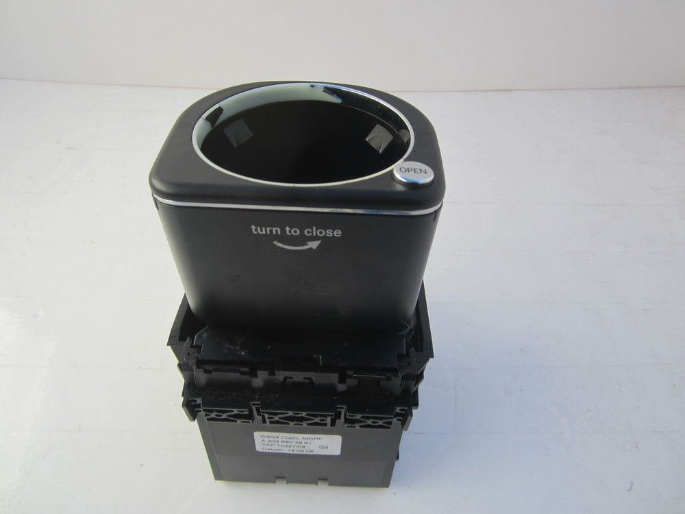 203 680 39 91 mercedes benz c230 c280 c class cup holder for Mercedes benz cup