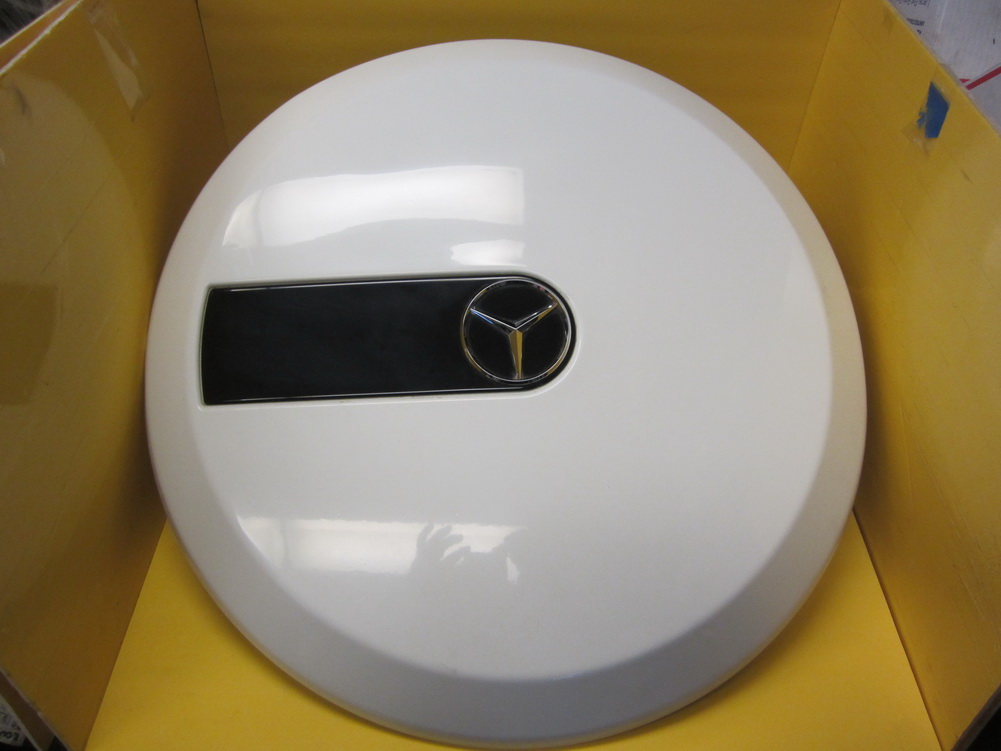Mercedes benz g500 g55 g class spare tire cover 463 oem for Mercedes benz g class parts