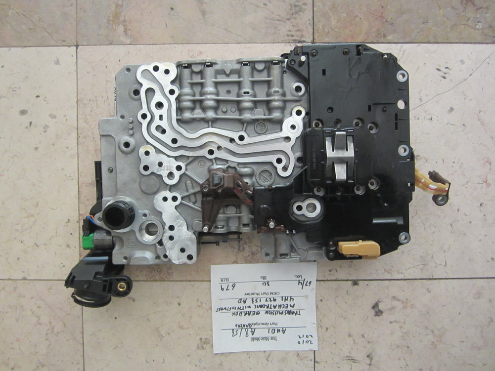 Gear Box Body : H ad audi a s transmission valve body