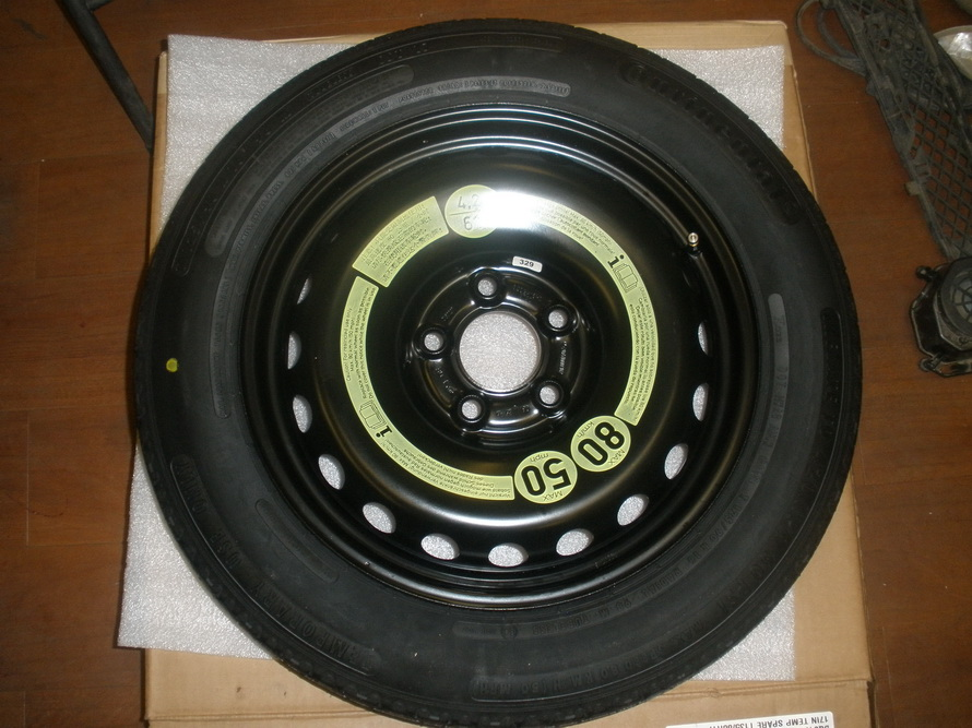 Mercedes benz spare tire bq8409033 used auto parts for Mercedes benz tyres