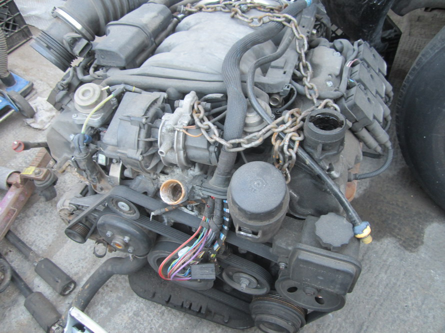 Mercedes benz engine 6 cyl used auto parts mercedes for Used mercedes benz engine