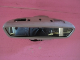 OEM 98 99 00 MERCEDES ML320 ML430 AUTO DIM INTERIOR REAR VIEW MIRROR GRAY W163