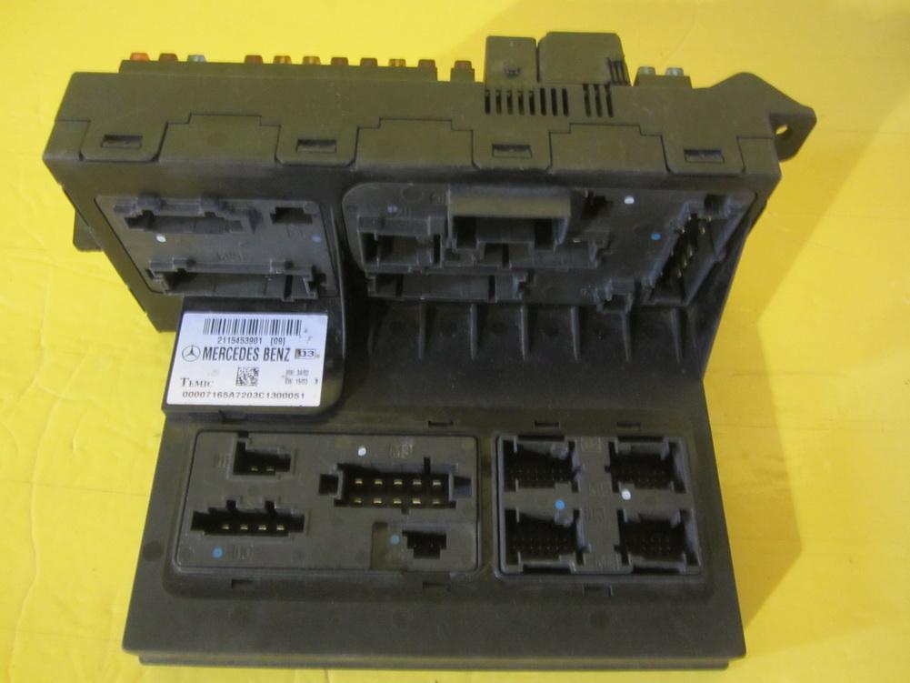Mercedes benz sam control fuse box used