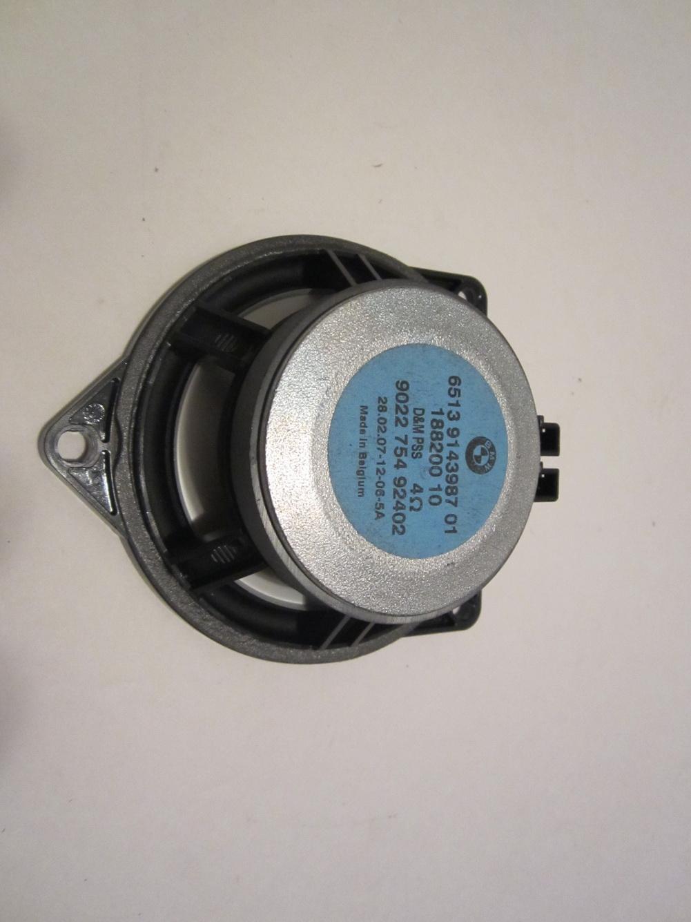 Bmw Z4 Speaker 6513 91 43987 Used Auto Parts