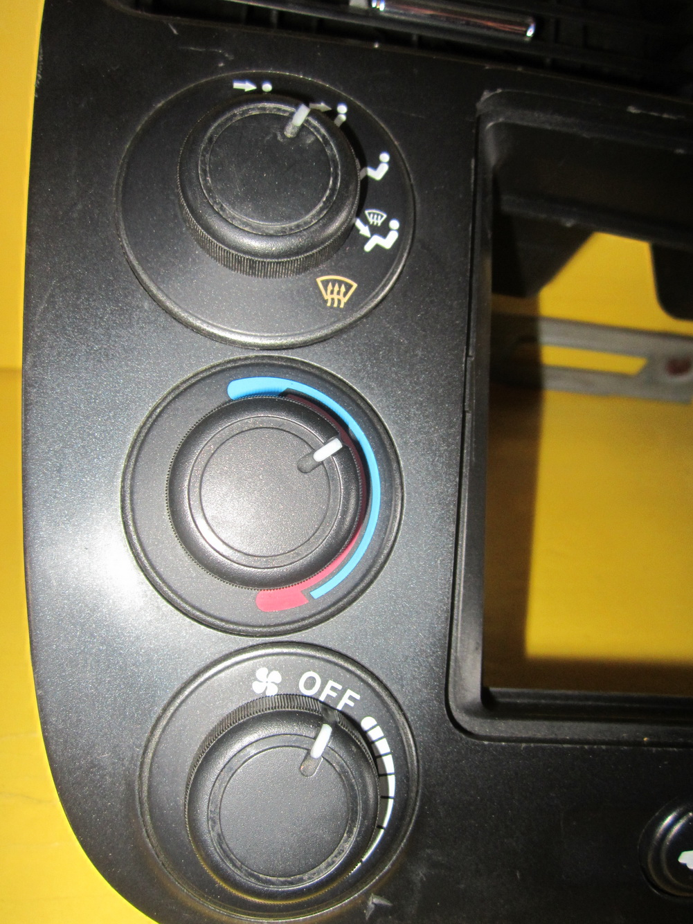 2001 2002 2003 2004 2005 HONDA CIVIC CLIMATE CONTROL RADIO FACE PLATE BEZEL OEM: Used Auto Parts ...