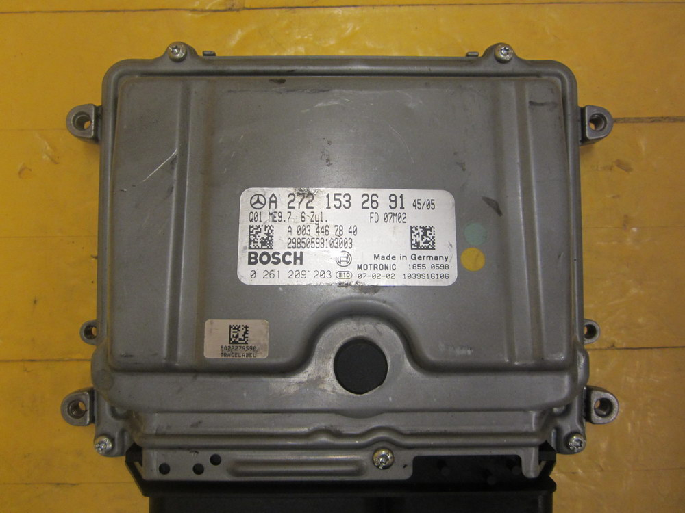 272 153 51 91 mercedes benz computer ecu 272 153 26 91