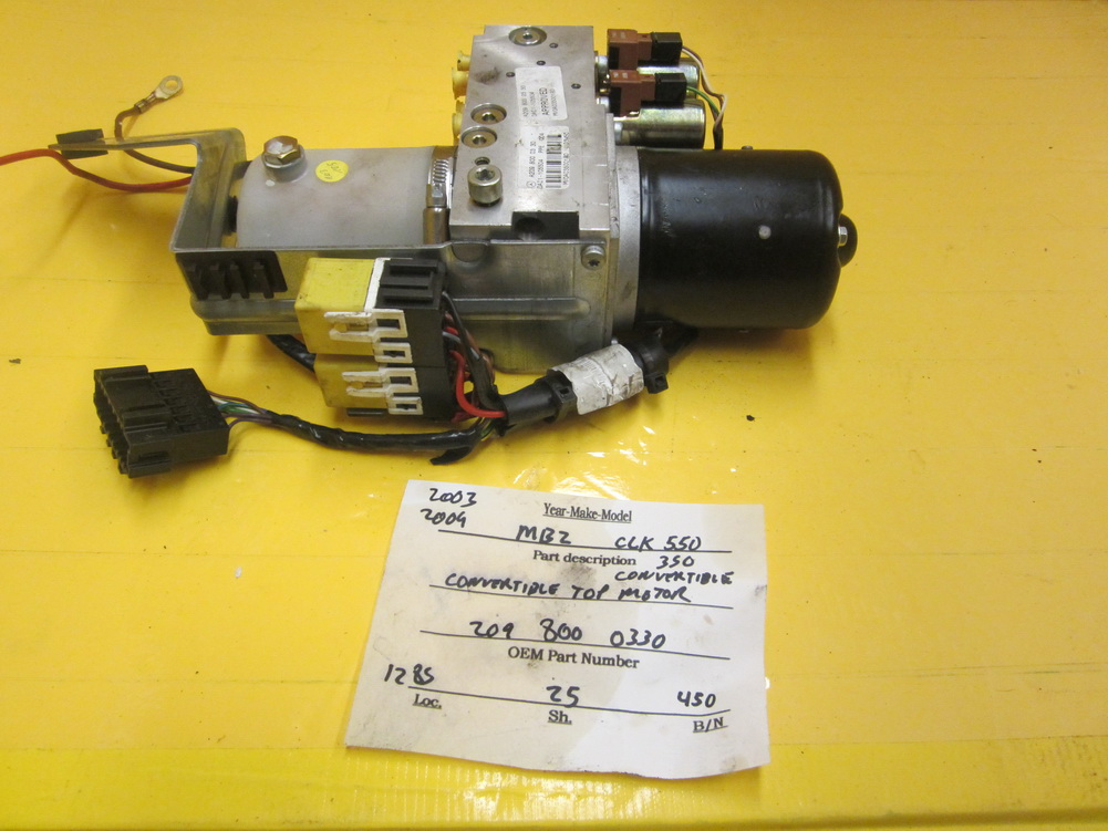 Mercedes benz top motor 2098000330 used auto parts for Used mercedes benz auto parts