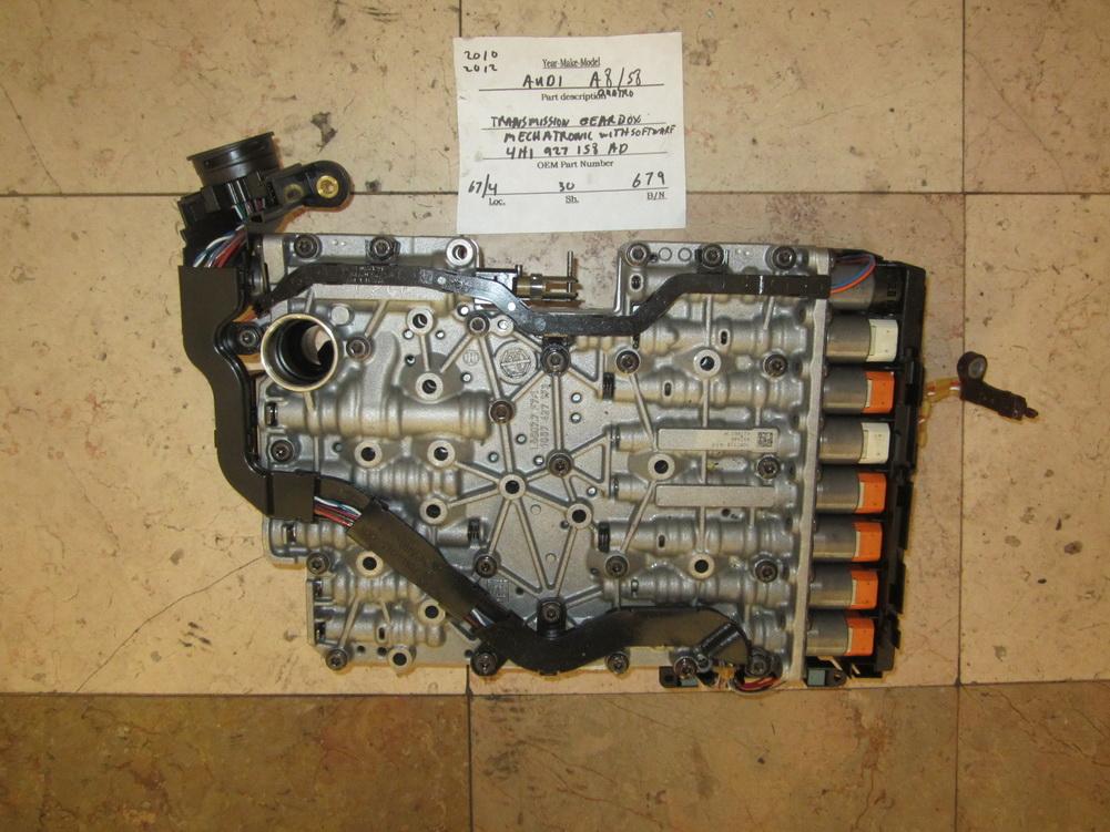4h1 927 158 Ad Audi A8 S8 Transmission Valve Body