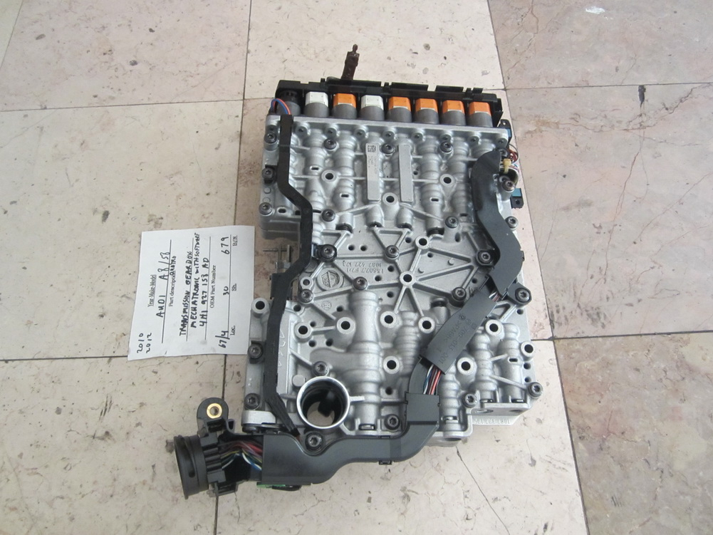 4h1 927 158 ad audi a8 s8 transmission valve body for Mercedes benz used body parts