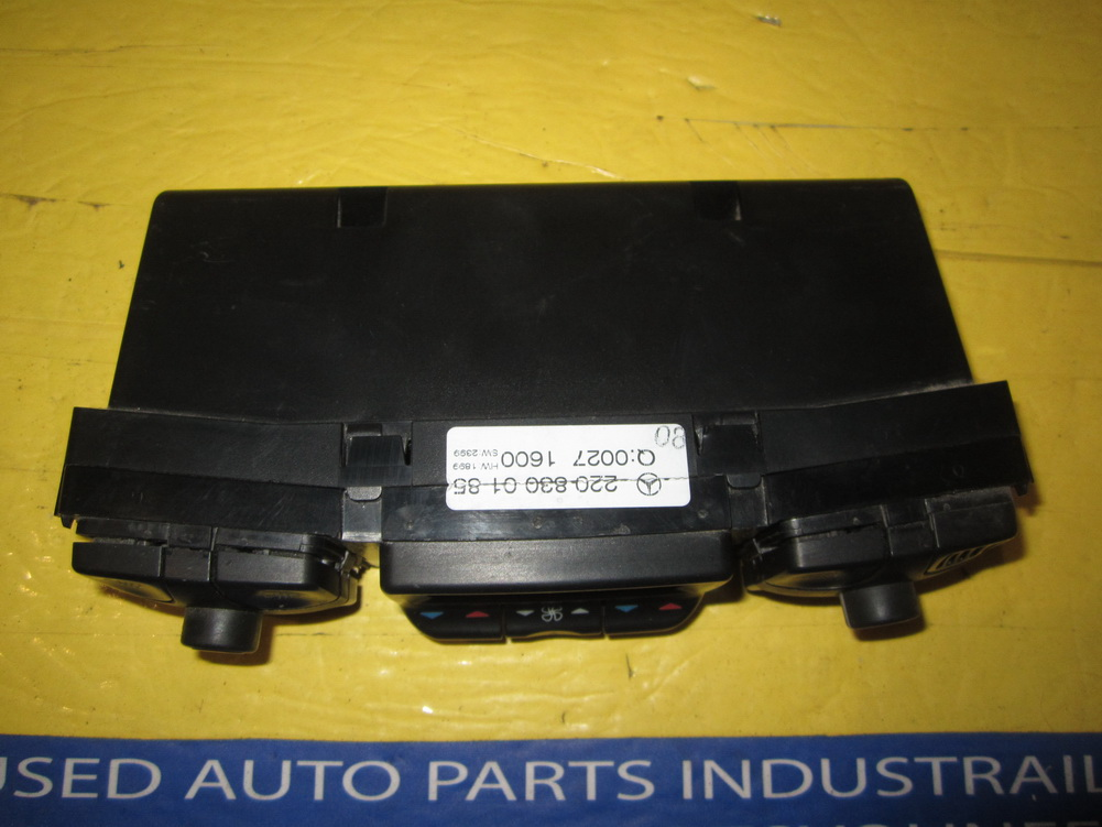 Mercedes benz ac control climate control heater for Used mercedes benz parts
