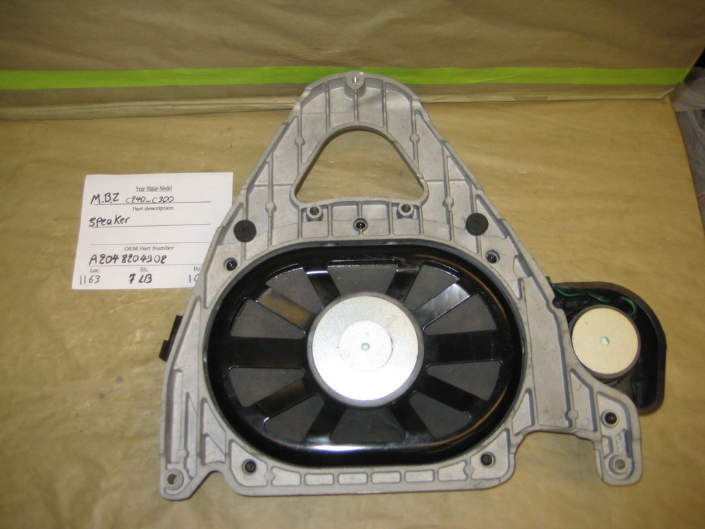 Mercedes benz c240 c320 speaker 2048204902 used for Mercedes benz audio upgrades