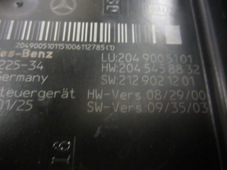 Mercedes Benz Fuse Box 2049005101 Used Auto Parts 2014 Bmw M6