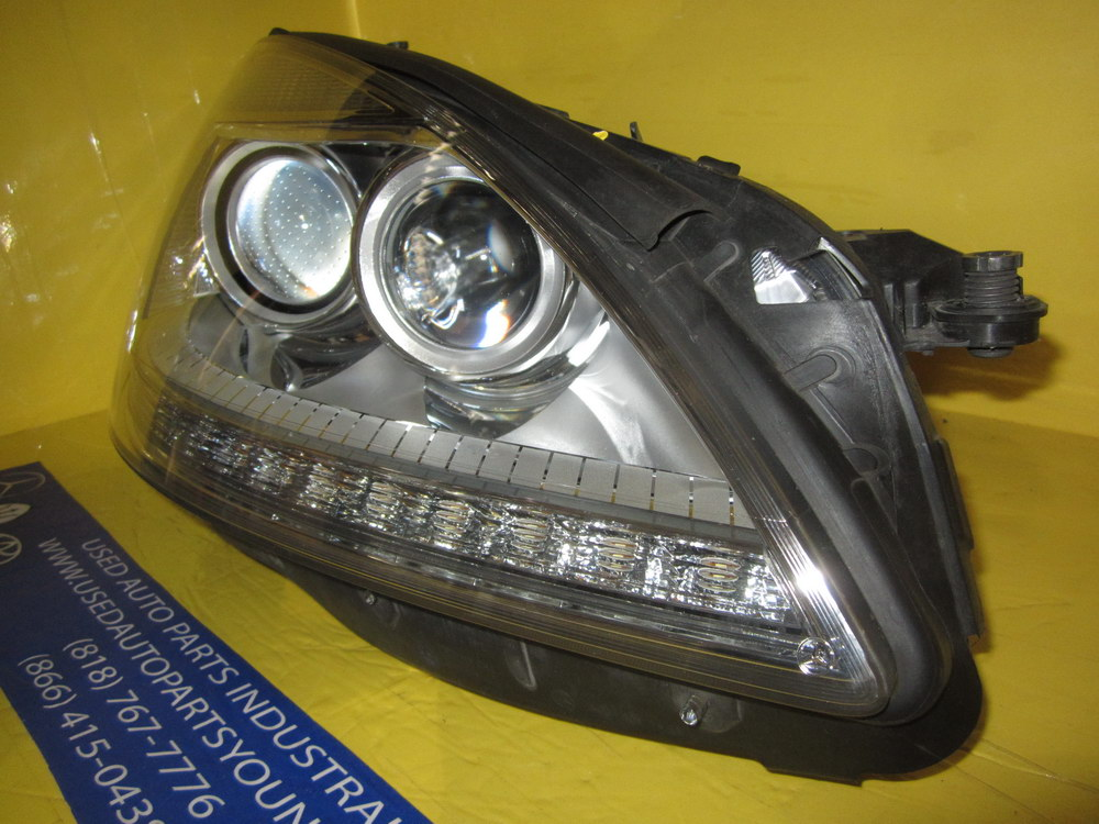 Mercedes benz hid xenon headlight 2218205859 used for Used mercedes benz auto parts