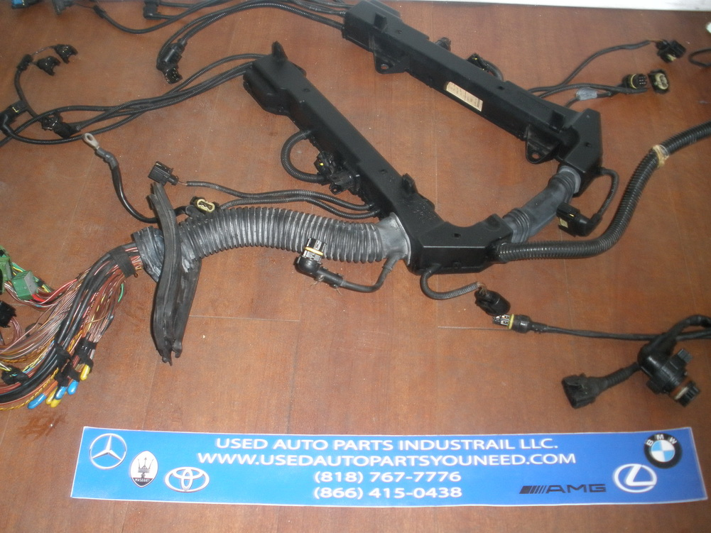 Used Auto Wiring Harness : Bmw wiring harness used auto parts