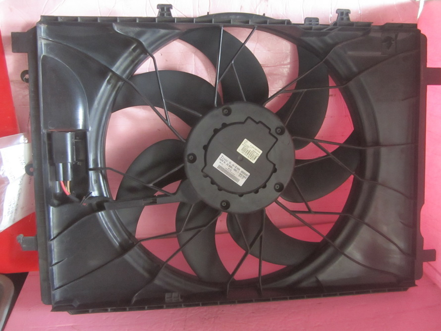 Mercedes benz cooling radiator fan a2045000293 used for Mercedes benz fans