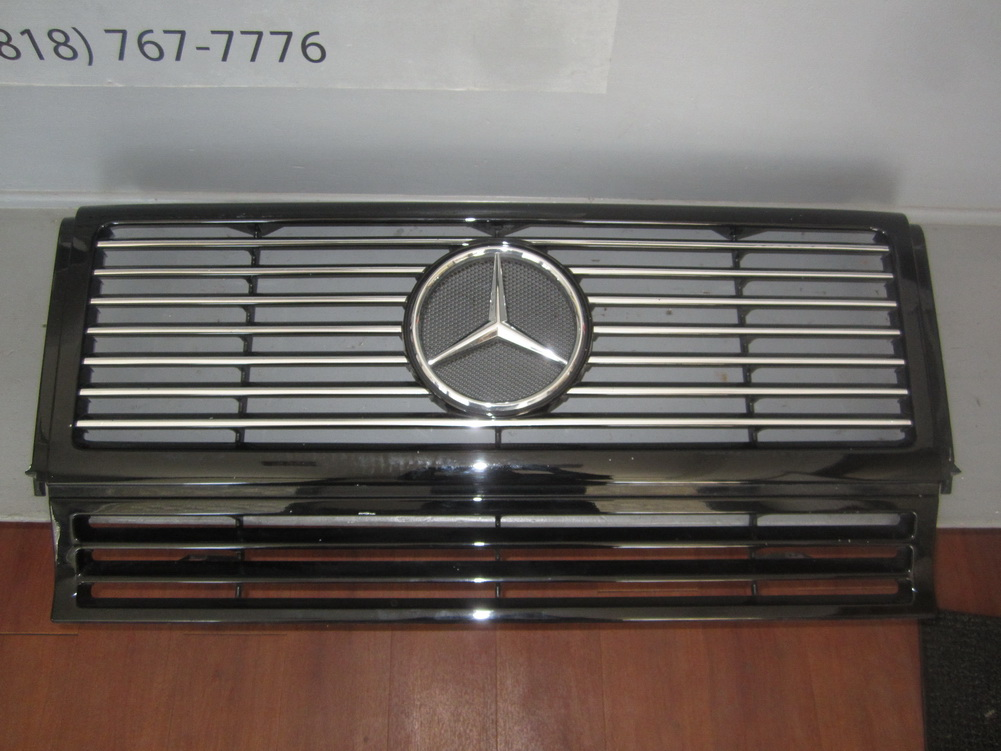 Mercedes benz grille 4638880016 used auto parts for Used parts for mercedes benz