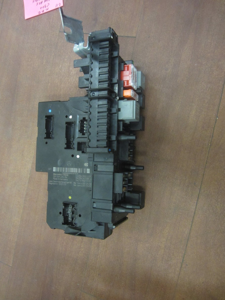 mercedes benz fuse box 2049005101 used auto parts. Black Bedroom Furniture Sets. Home Design Ideas