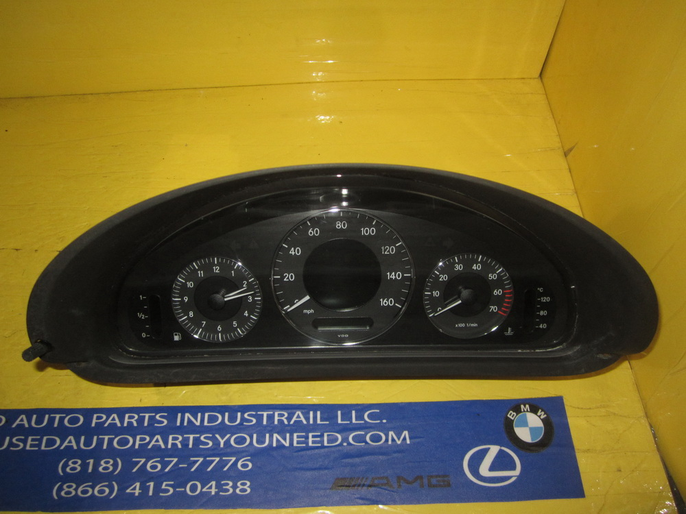 Mercedes benz speedo cluster 2095407511 used auto for Mercedes benz auto parts