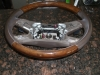 Mercedes Benz - Steering Wheel PADDLE SHIFTER WOOD BROWN - 2124600703