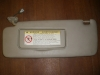 Toyota - Sunvisor - Sun visor tan color - garage door opner