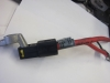 BMW  Battery Cable POSITIVE BATTERY  ( PLUS POLE ) CUT CABLE - REAR