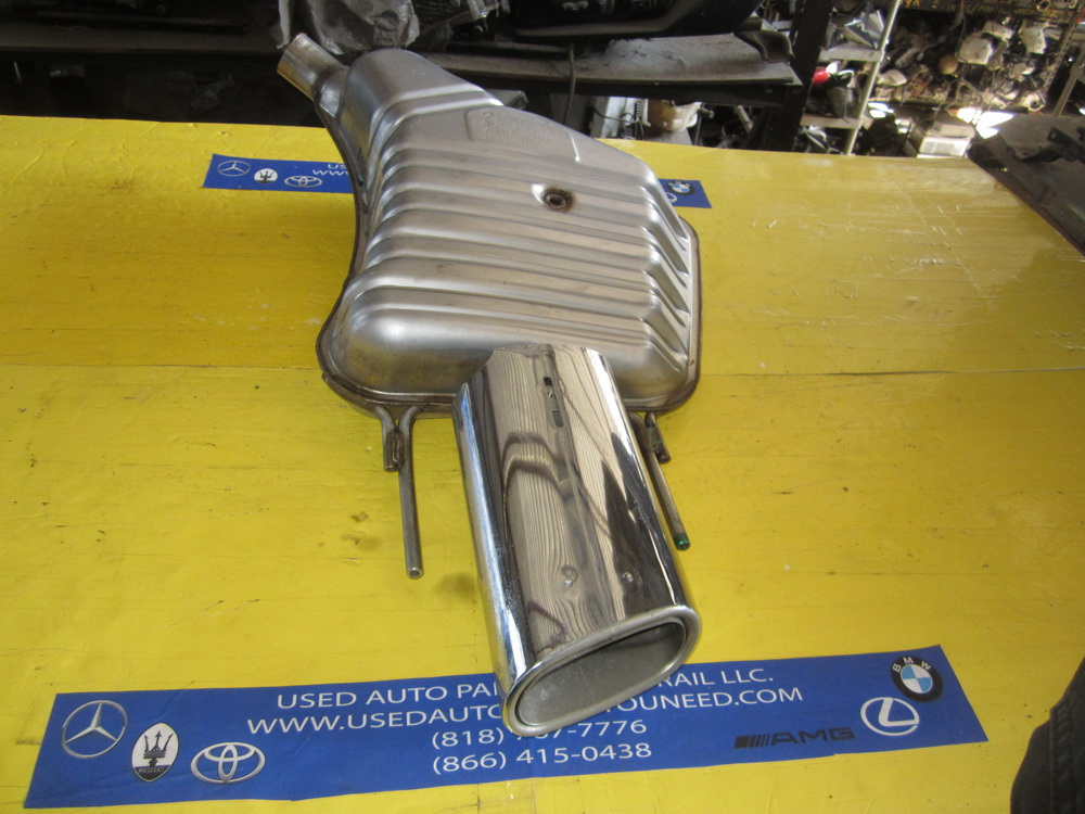 Mercedes benz exhaust muffler 2164910400 used auto for Mercedes benz exhaust