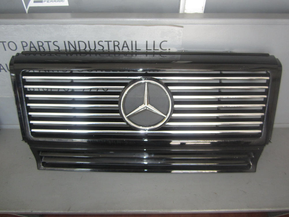 Mercedes benz grille 4638880016 used auto parts for Auto parts for mercedes benz